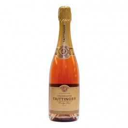 Taittinger Brut Rosé Champagne 75cl - Case of 6