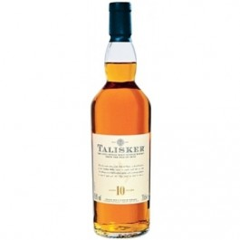 Talisker 10 YO Whisky 70cl - Case of 6
