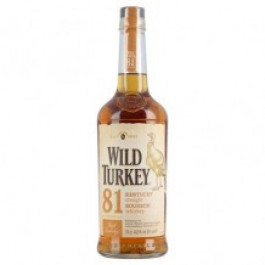 Wild Turkey 81 Proof Bourbon 70cl - Case of 6
