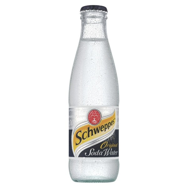 Schweppes Soda Water Nrb 200ml Case Of 24 Online Cash