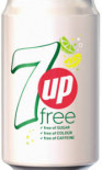 7 UP Free can 330ml - Case of 24