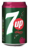 7 UP Cherry can 330ml