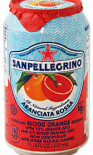 San Pellegrino Aranciata Rossa can 330ml - Case of 24