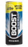 Boost Energy Drink 250ml PM 49p - Case of 24