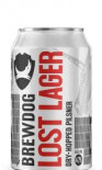 Brewdog Lost Lager Beer Can 330ml - Case of 24