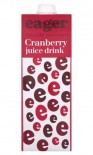 Eager Cranberry Juice 1 Litre - Case of 8