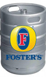 Foster's larger Beer Keg - 50 Liters (11 Gallons)