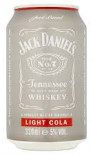 Jack Daniels & Light Cola 330ml Can - Case of 12