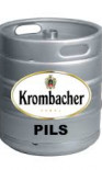 Krombacher Pils Beer Keg - 50 Litre (11 Gallons)