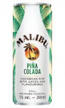 Malibu & Pina Colada Alcopops Can 250ml - Case of 12