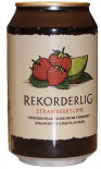 Rekorderlig Strawberry & Lime Cider can 330ml - Case of 24