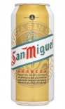 San Miguel Beer can 500ml - Case of 24