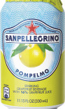 San Pellegrino Pompelmo can 330ml - Case of 24
