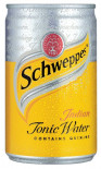 Schweppes Indian Tonic Water can 150ml - Case of 24