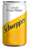 Schweppes Slimline Indian Tonic Water can 150ml - Case of 24