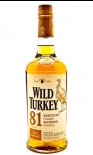 Wild Turkey 81 Proof Bourbon 70cl
