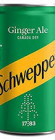 Schweppes Canada Dry Ginger Ale can 150ml - Case of 24