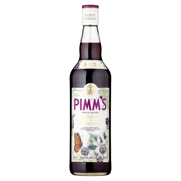 Pimm's Special Edition Blackberry & Elderflower 70cl Online Cash And ...