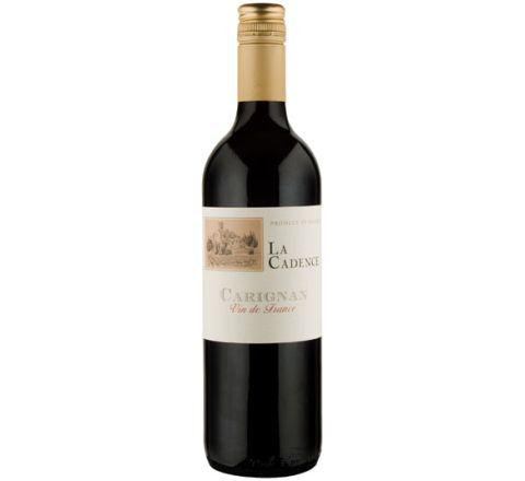 La Cadence Carignan Vin de France 2016 Wine 75cl - Case of 6
