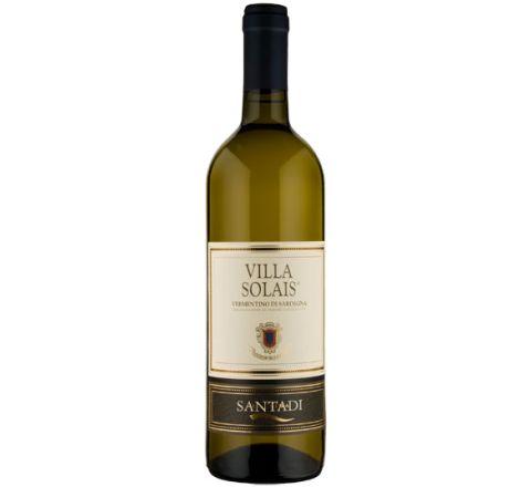 Santadi Villa Solais Vermentino di Sardegna 2018 Wine 75cl - Case of 6