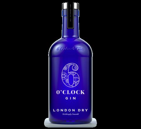 6 O'Clock London Dry Gin 70cl