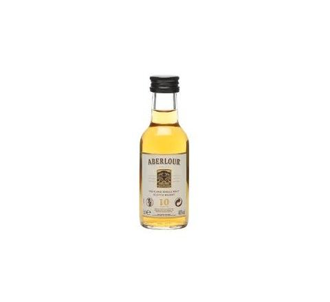 Aberlour 10 YO Malt Whisky Miniature 5cl - Case of 12