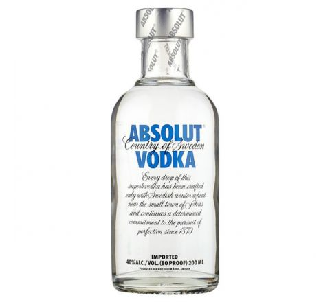 Absolut Vodka 20cl - Case of 6
