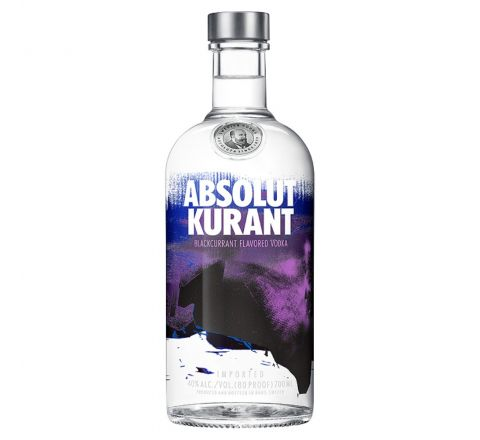 Absolut Kurant Vodka 70cl - Case of 6