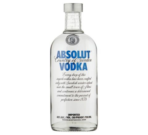 Absolut Blue Vodka 70cl - Case of 6