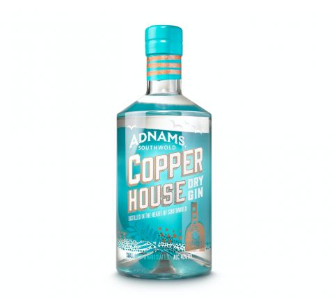 Adnams Copper House Dry Gin 70cl - Case of 6