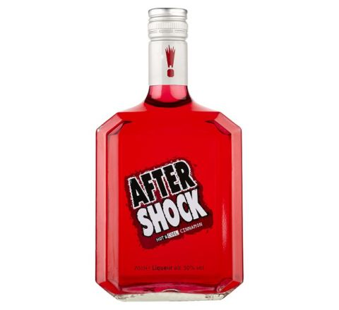 After Shock Red Cinnamon Liqueur 70cl