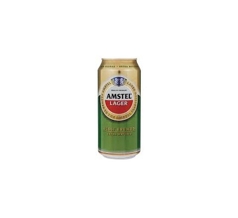 Amstel Lager Beer Can 440ml - Case of 24
