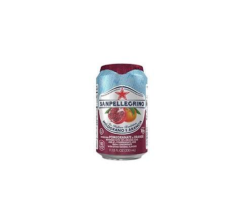 San Pellegrino Melograno eArancia can 330ml - Case of 24