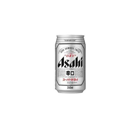 Asahi Super Dry Beer Can 350ml - Case of 24