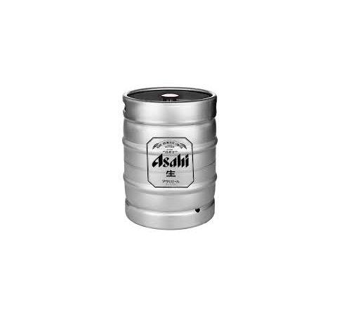 Asahi Super Dry Beer Keg - 50 Litre (11 Gallons)
