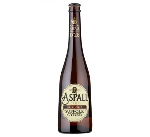 Aspall Draught Suffolk Cider NRB 500ml - Case of 6