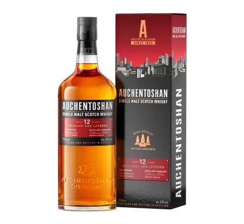 Auchentoshan 12 Year Old Malt Whisky 70cl