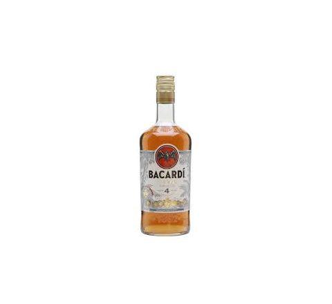Bacardi Anejo Cuatro Rum 70cl - Case of 6