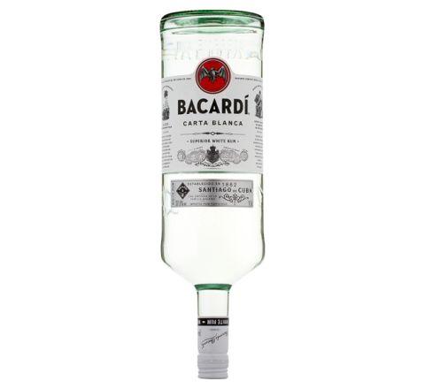Bacardi Carta Blanca Rum 1.5 Litre - Case of 6