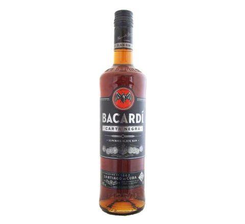 Bacardi Carta Negra Rum 70cl - Case of 6