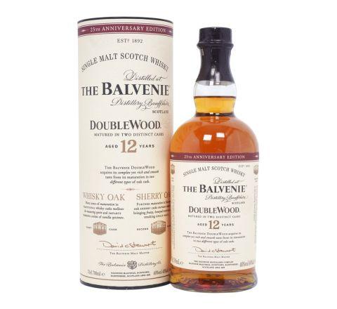 Balvenie 12 Year Old Doublewood  Scotch Single Malt Whisky 70cl