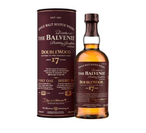 Balvenie 17 Year Old Doublewood Scotch Single Malt Whisky 70cl