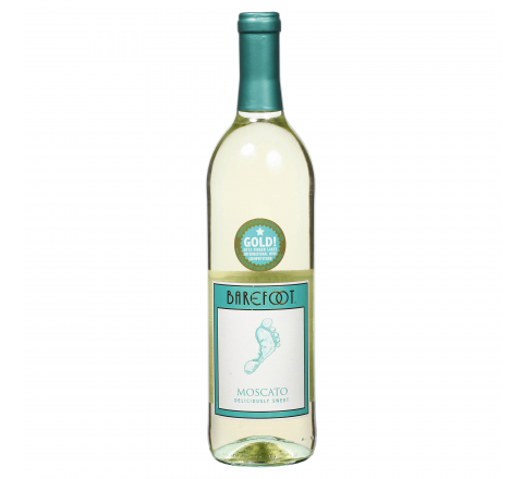 Barefoot Moscato Wine 75cl - Case of 6