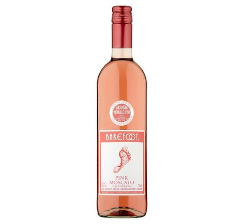 Barefoot Pink Moscato Wine 75cl - Case of 6