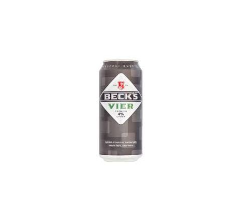 Beck's Vier Beer can 440ml - Case of 24