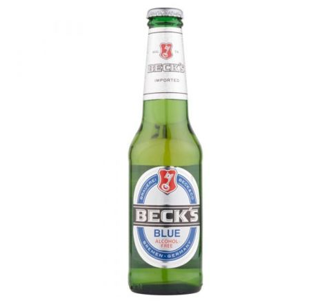 Beck's Blue Non Alcoholic Beer NRB 275ml - Case of 24