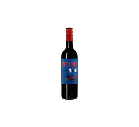 Beefsteak Club French Malbec Wine 75cl - Case of 6