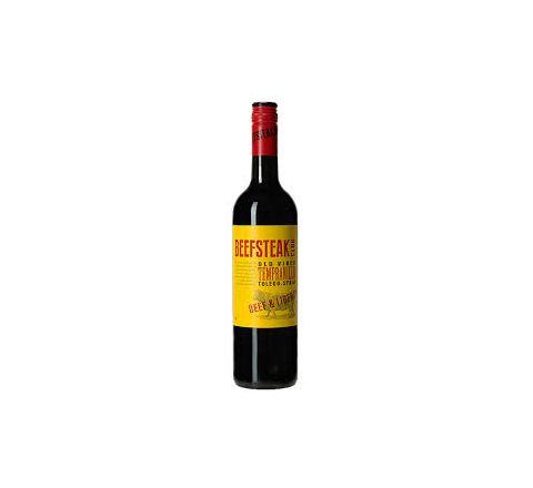 Beefsteak Club Tempranillo Wine 75cl - Case of 6
