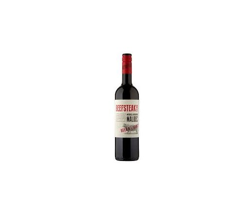 Beefsteak Club Malbec Wine 75cl - Case of 6