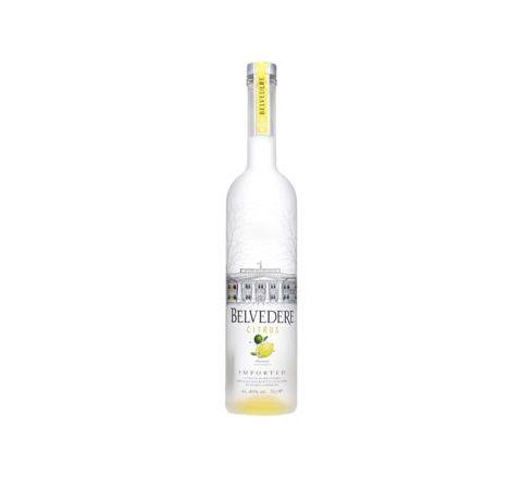 Belvedere Lemon Vodka 70cl - Case of 6